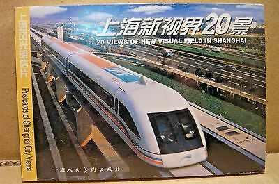 20 Views of Shanghai-Chinese Post Cards-20 in Shrink Wrap-New