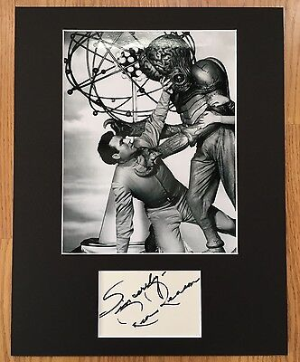 REX REASON SIGNED AUTOGRAPHED THIS ISLAND EARTH MATTED OVERALL SIZE 11x14