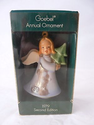 Goebel Germany 1979 Angel Ornament With Original Box