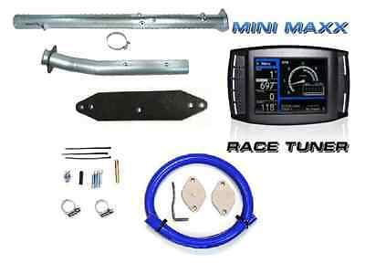 H&S Mini Maxx DPF/CAT Pipe EGR Delete 2011-2014 Ford 6.7L Powerstroke Diesel 6.7