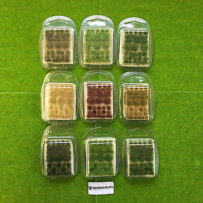 True Tufts mixed -Serious-Play- Model Scenery Static Grass Natural Shaped Wild