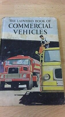 vintage ladybird book commercial vehicles 2'6