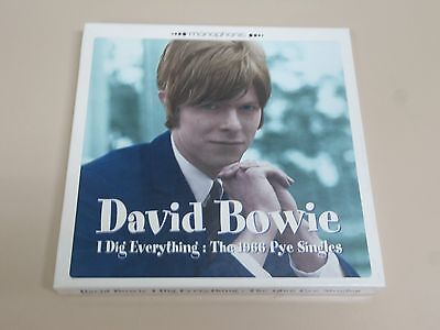 "David Bowie I Dig Everything The 1966 Pye Singles Box Set 3 7""+Insert Mod Pop"