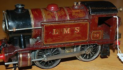 HORNBY SERIES O GAUGE ELECTRIC No 1 SPECIAL LOCO IN LMS RED LIVERY