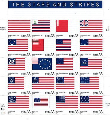 Stars And Stripes (Face Value $6.60)