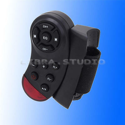 1 Pc Black Infrared Steering Wheel Bluetooth Multifunctional Remotes New