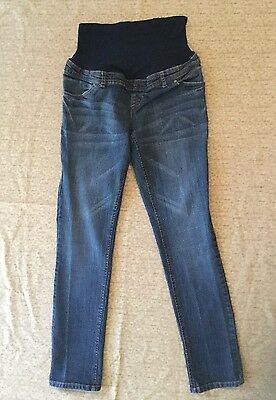 Maternity Blue Stretch Skinny Jeans *womens Size Small*