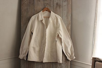 Work Wear French workwear Chore jacket natural Painter's coat
