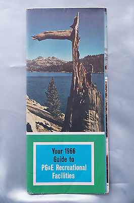 Your 1966 Guide to PG&E Recreational Facilities