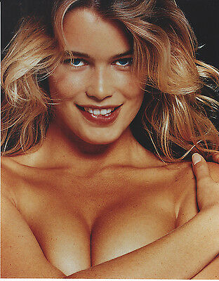 Claudia Schiffer 8 X 10 Photo With Ultra Pro Toploader