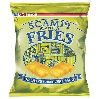Smiths Scampi Flavour Fries 27g Case of 24 Bags