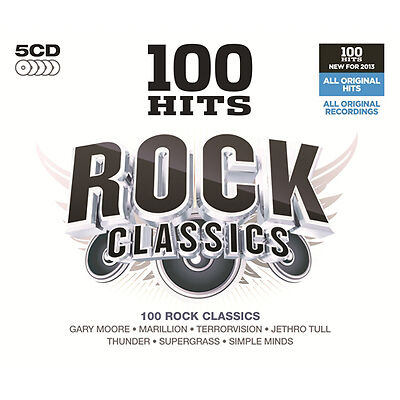 Various Artists 100 Hits: Rock Classics CD NEW