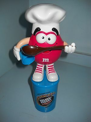 M & Ms Sweet Dispenser Cook Figure and Sweet Container