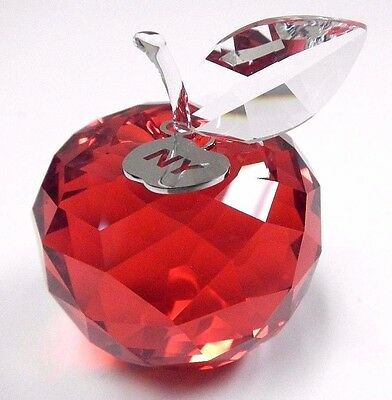 New York Apple, Small - Red Crystal Nyc Love 2016 Swarovski Crystal #5223929