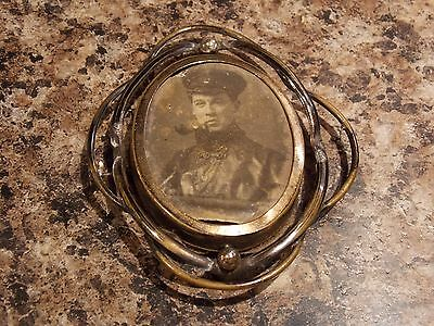 WW1 World War One Sweetheart Brooch Soldier Possibly Navy Army Naval Seaman.