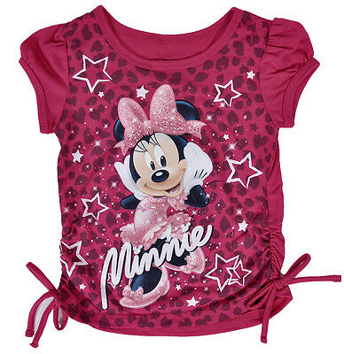 Disney Minnie Mouse Toddler T-Shirt Pink