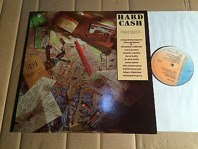 V/A - HARD CASH - RICHARD THOMPSON / CLIVE GREGSON u.a. - LP - SPD 1027 - UK
