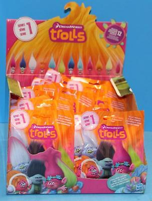 Hasbro Trolls Small Troll Figure Blind Bag Wave 1 Case Case of 24
