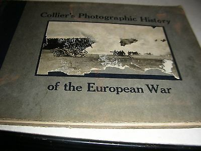 1915 photographic history of the european war collier's