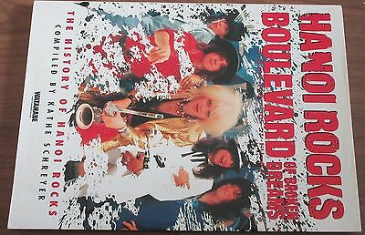 HANOI ROCKS Japan only PHOTO BOOK 128 pages NOT tour programme MICHAEL MONROE