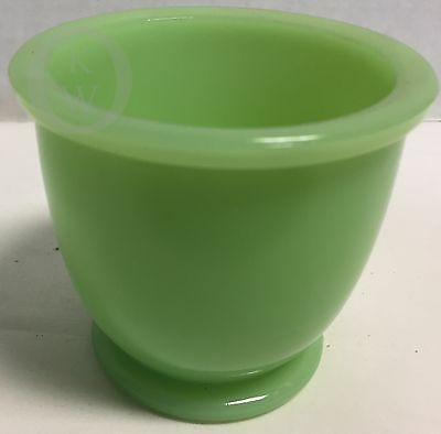Vintage *Jeannette*Jadite Jadeite*Matches Holder /Egg Cup*16317G