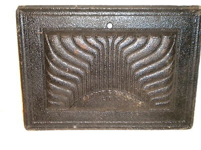 Vintage Harris & Zoiner Cast Iron Insert Fireplace, Stove??