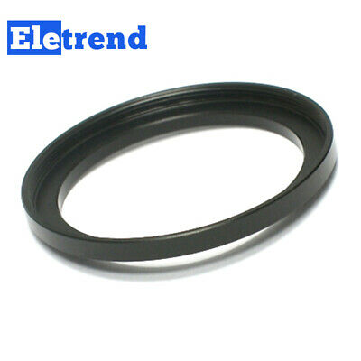 46mm to 52mm 46-52mm Male-Famale Step-Up Lens Filter Hood Cover Ring Adapter
