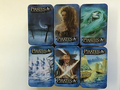 Pirates of the Revolution - 6 Collector Tins Wizkids