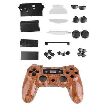 Brown ABS Controller Shell Housing Case Buttons Parts for PlayStation4 PS4
