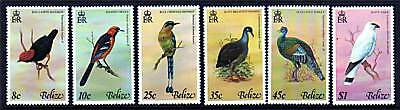 Belize 1977 Birds 1st series SG 452/7 MNH