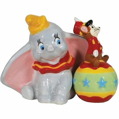 Disney Dumbo And Timothy Mouse Salt & Peppers Shakers Set Westland #25701