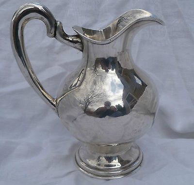 Vintage Solid Silver Water Pitcher