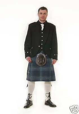 "Your Tartan 8Yd 16Oz Wool Kilt Made 2 Measure ""sale Offer"" Now £279"