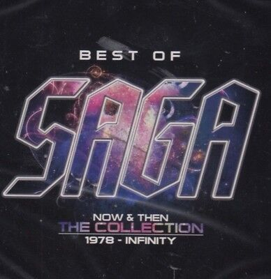 Saga / Best Of - Now And Then - The Collection - Greatest Hits(2 CDS, NEU! OVP)