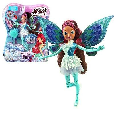 Winx Club - Tynix Fairy Doll - Layla Aisha 28cm with Magic Robe