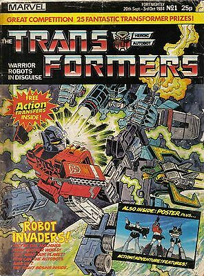 Uk Comics Transformers Weekly Collection Of 200+ Issues On Dvd