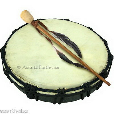 DRUM CEREMONIAL Wicca Pagan Witch Goth SHAMANIC TRANCE DANCE  DRUM