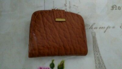 Lovely Vintage Lanchester Leather Brown Clasp Purse/wallet : Good Quality
