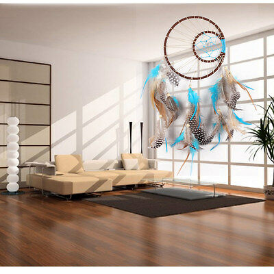 NEW Handmade Dream Catcher w/ Feathers Wall Hanging Decoration Car Ornament Gift