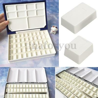 10pcs Water Colour Artist Empty Pan Full or Half Pans For Watercolour Painting