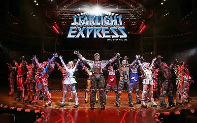 2x 4x starlight express musical tickets pk 2 muttertag sonntag 19 uhr eur 150 99. Black Bedroom Furniture Sets. Home Design Ideas