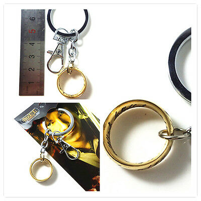 The Lord of the Rings Hobbits  Internal and external lettering key chain hot