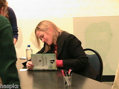 Signed Tracy Chevalier 'remarkable Creatures' Hc 1St/1St Ed-Girl W Pearl Earring