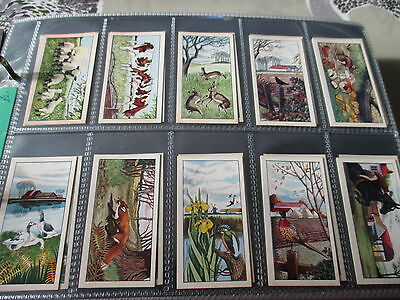 Preston Dairies**country Life**set Of 25 Cards