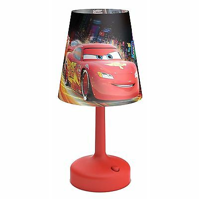 Disney Cars Portable Table / Desk Lamp Kids Bedroom 100% Official New Free P+P