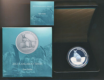 Australia: 2012 $1 Kangaroo  Silver Proof, RAM Issue price $100