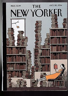 THE NEW YORKER 20 October 2014 Edward Snowden/Beethoven/Pets Allowed/The Mission