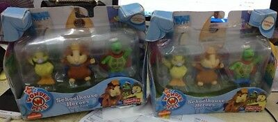 Wonder Pets School House Heros Figure Pack set of 3 Ming Lenny Tuk Term in Box