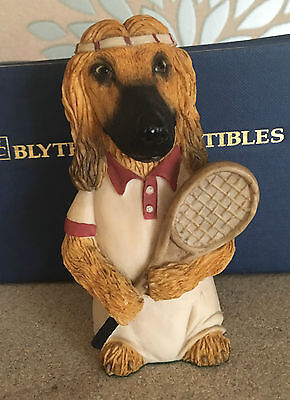 Blythe Dogsbodies Dog Afghan Boris Barker Tennis Players Boxed Perfect