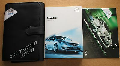 Mazda 6 Handbook Owners Manual Wallet 2008-2010 Pack 11278